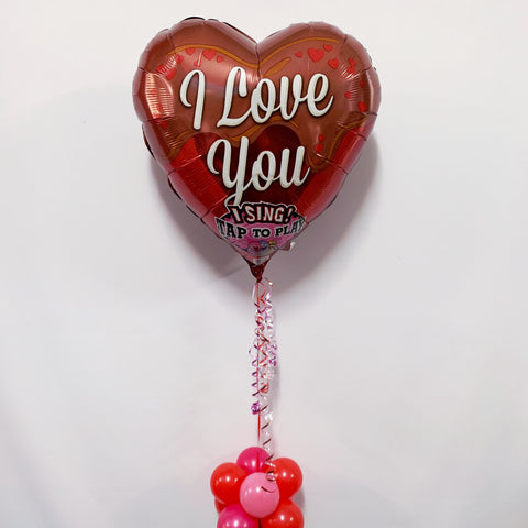 Valentine Serenade - SINGING Balloon: How Sweet It Is