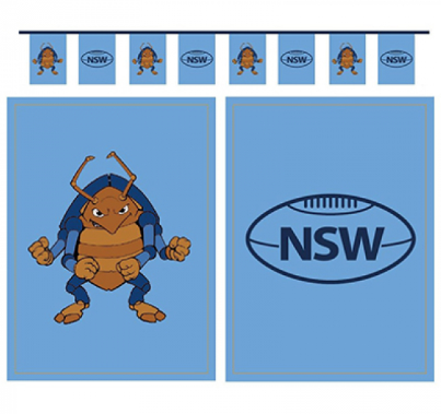 Paper Flag Banner NSW