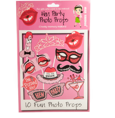 Hens Party Photo Props