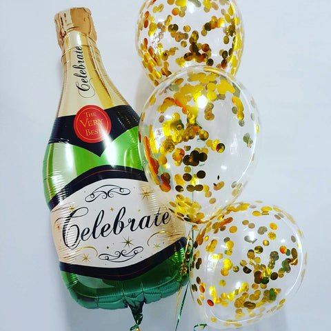 Champagne and Confetti Bouquet