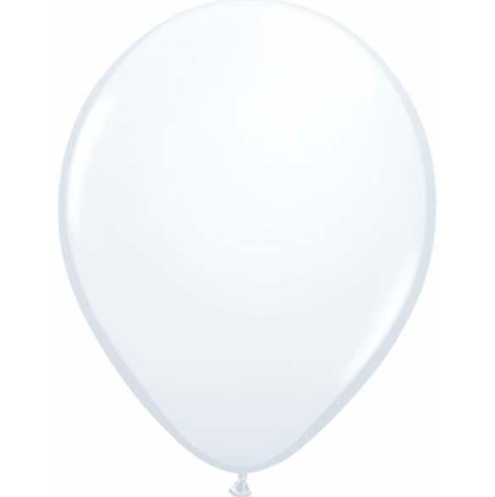 Standard White Latex Balloons Pack of 25