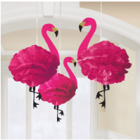 Flamingo Deluxe Fluffy Decorations