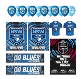 NSW Blues Display Kit