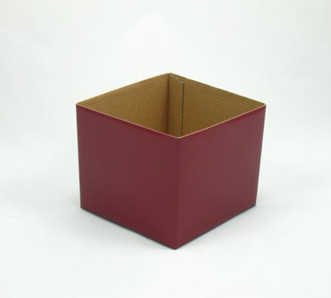 Mini Gloss Posy Box Burgundy