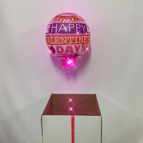 Surprise Box with LED Balloon