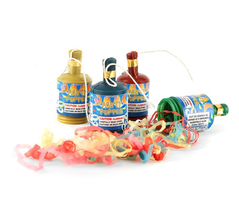 Party Poppers Pack of 20
