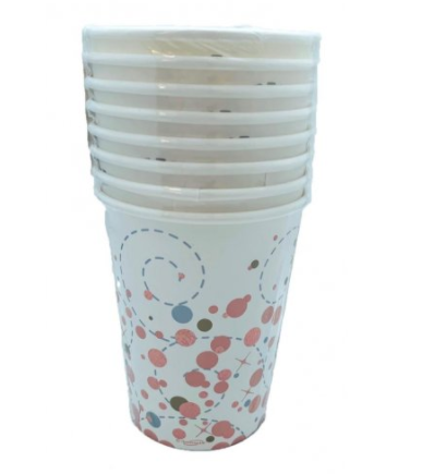 Paper Cups Rose Gold Sparkling Fizz