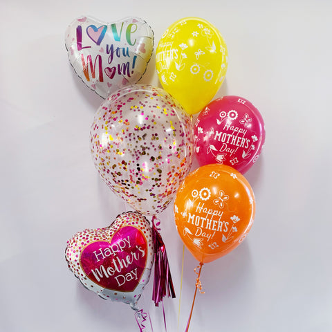 Mother's Day Confetti and Foil Bouquet Option 2