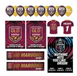 QLD Maroons Display Kit