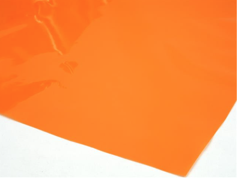 Cellophane Sheet Solid Colour Orange