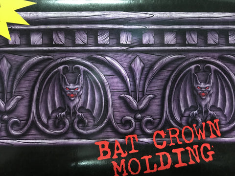 Border Roll Bat Crown Molding
