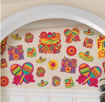 Cutouts Fiesta Assorted Value Pack
