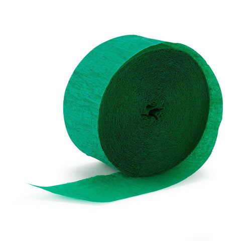 Crepe Streamer Green