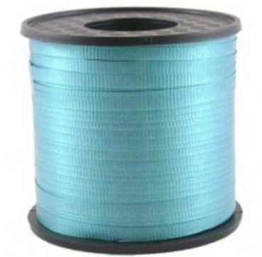 Curling Ribbon Teal 460m
