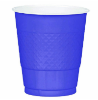 Plastic Cup Extra Large Purple 355ml