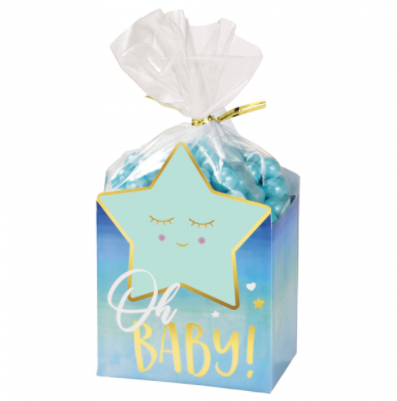 Baby Shower Favour Box Kit Blue