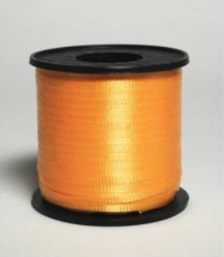 Curling Ribbon Orange 460m
