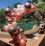 2m Hoop with Balloon Garland