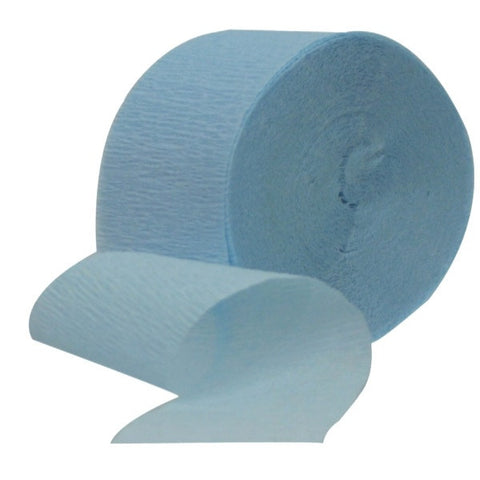 Crepe Streamer Light Blue