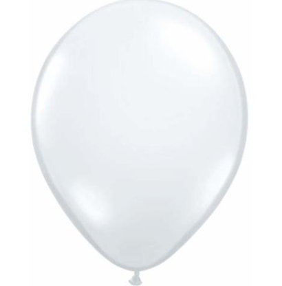 Jewel Diamond Clear Latex Balloons Pack of 25