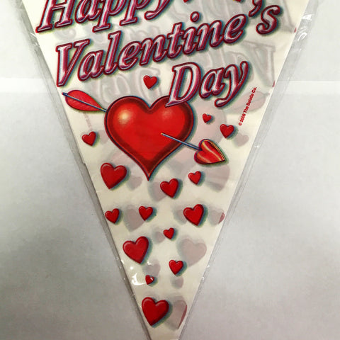 Bunting Happy Valentine's Day