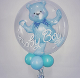 Double Bubble Baby Bear Balloon