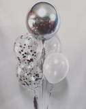 Sparkling Confetti and Orb Bouquet