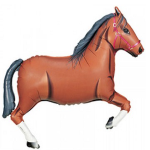 Horse Shape Foil Balloon Large
