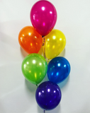 6 Balloon Bouquet with Hi-Float