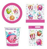 Complete Kid's Party Kit - Shopkins