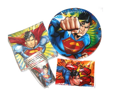 Party Pack 40 piece Superman