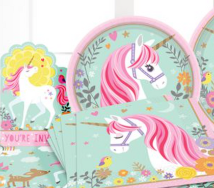 Party Pack 40 piece Magical Unicorn