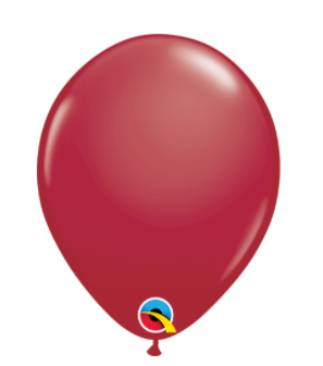 Fashion Maroon Latex Balloons Pk of 25