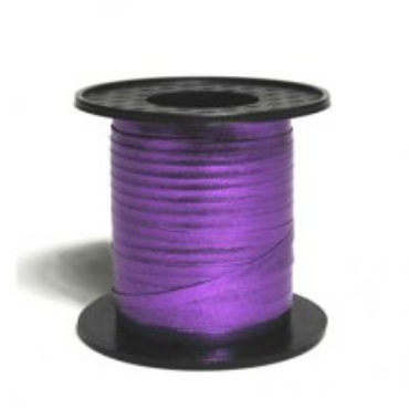 Metallic Curling Ribbon Purple 225m