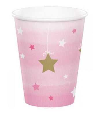 One Little Star Girl Cups