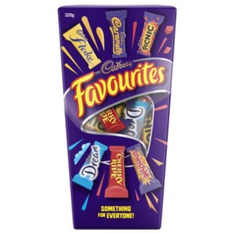 Cadbury Favourites Chocolates 265g