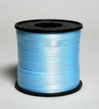 Curling Ribbon Light Blue 460m