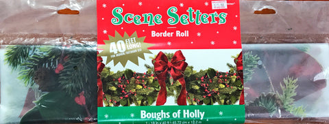 Border Roll Boughs of Holly