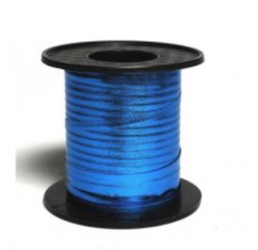 Metallic Curling Ribbon Blue 225m