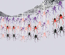 Spider Frenzy Ceiling Decoration