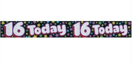 Foil Banner 16 Today