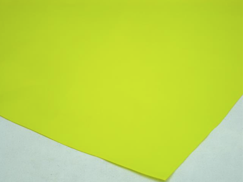 Cellophane Sheet Solid Colour Yellow