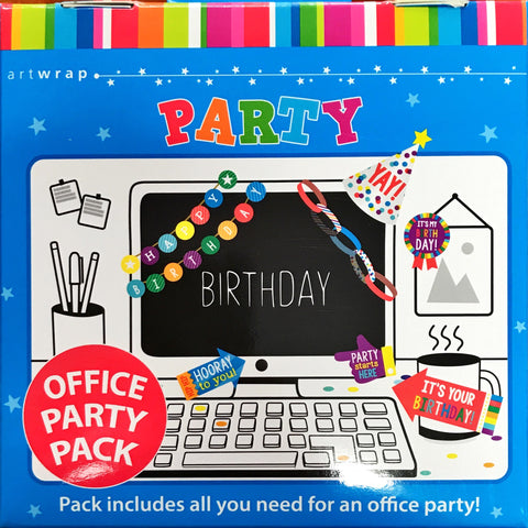 Office Decorating Kit - Birthday