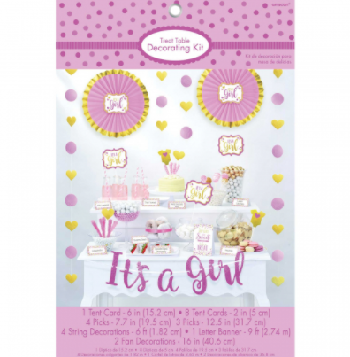 Treat Table Decorating Kit - GIRL
