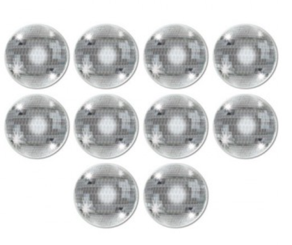 Cutouts Mini Disco Balls