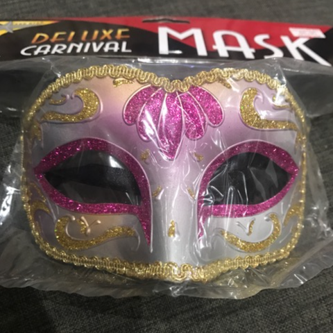 Mask Pink/Gold