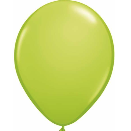 Fashion Lime Green Latex Balloons Bag of 25
