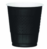 Plastic Cup Extra Large Black 355ml