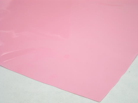 Cellophane Sheet Solid Colour Light Pink