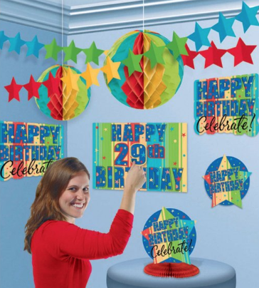 Decorating Kit Bright Customisable Age